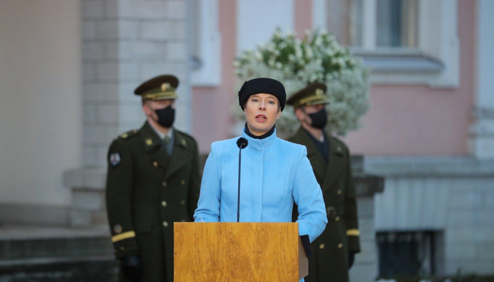 President nimetas ametisse Kaja Kallase valitsuse