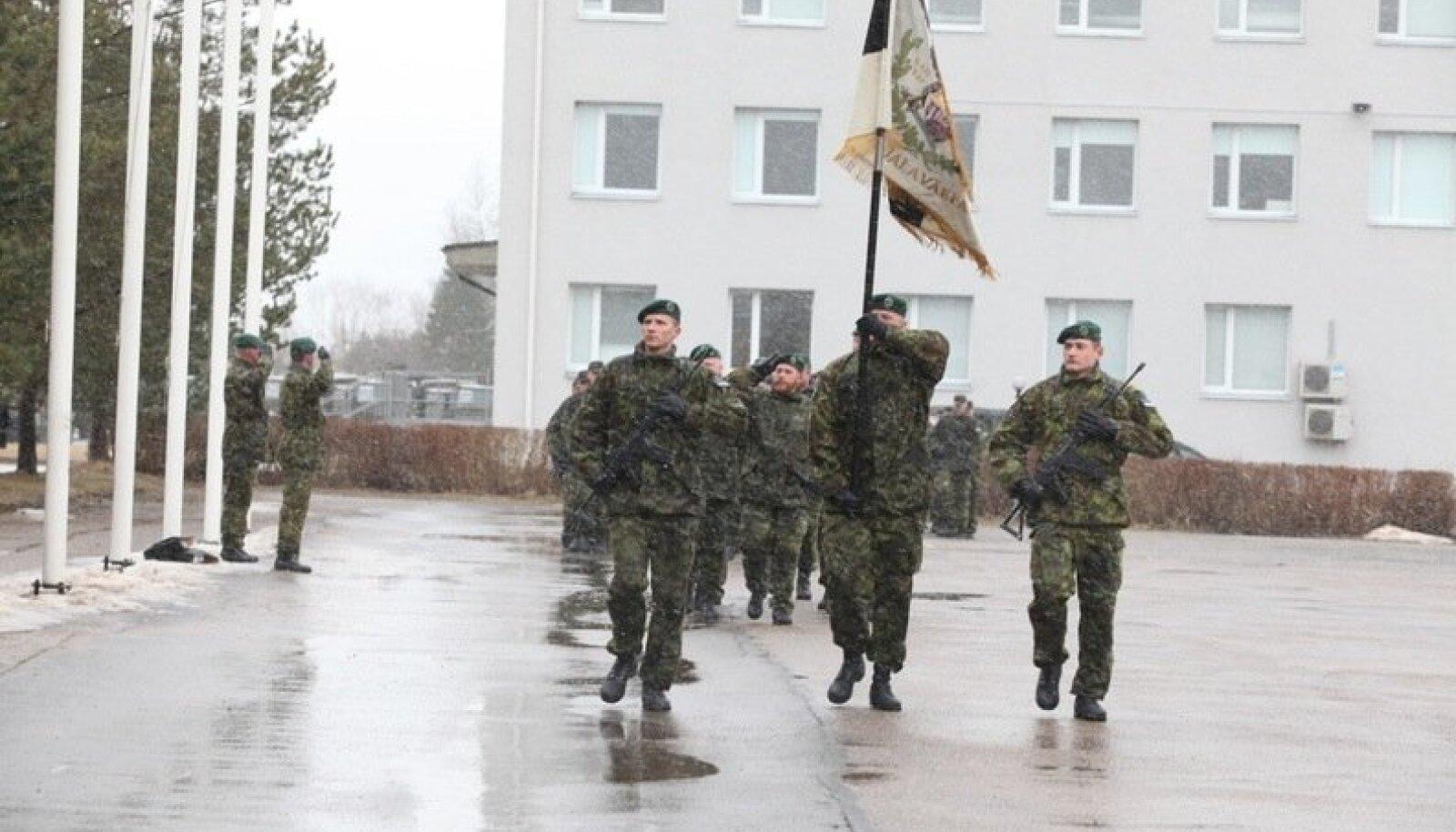 Viru jalaväepataljoni sõdurid