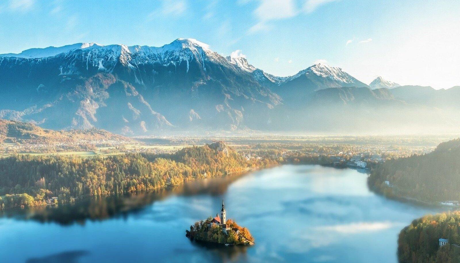 Bledi saar, Sloveenia