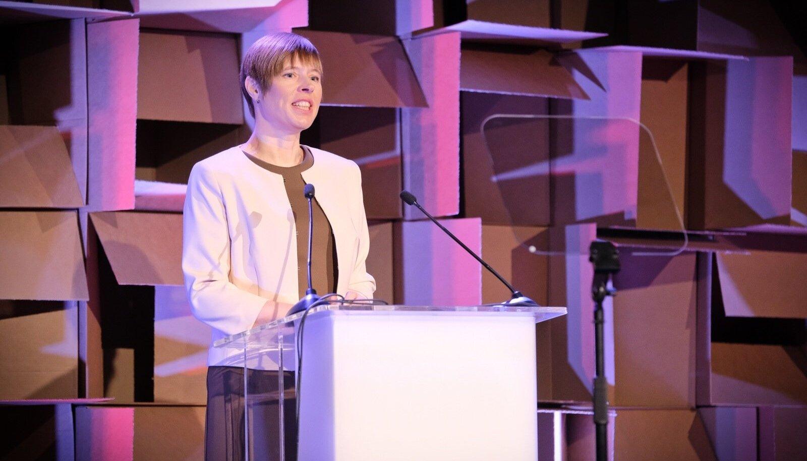 Kersti Kaljulaid esinemas TEDx Lasnamäe üritusel 24.03.2018