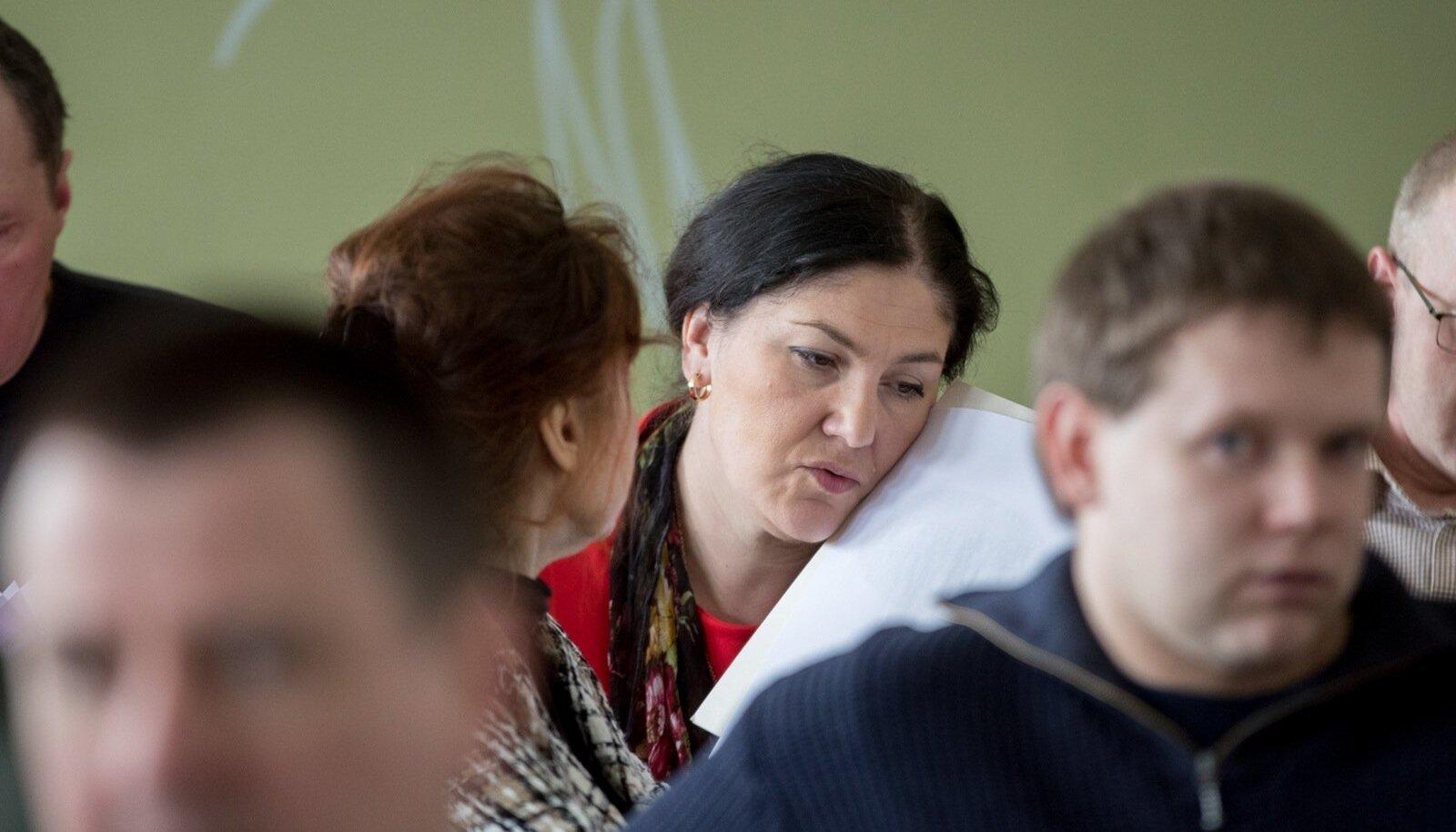 Maria Kaljuste EKRE volikogul