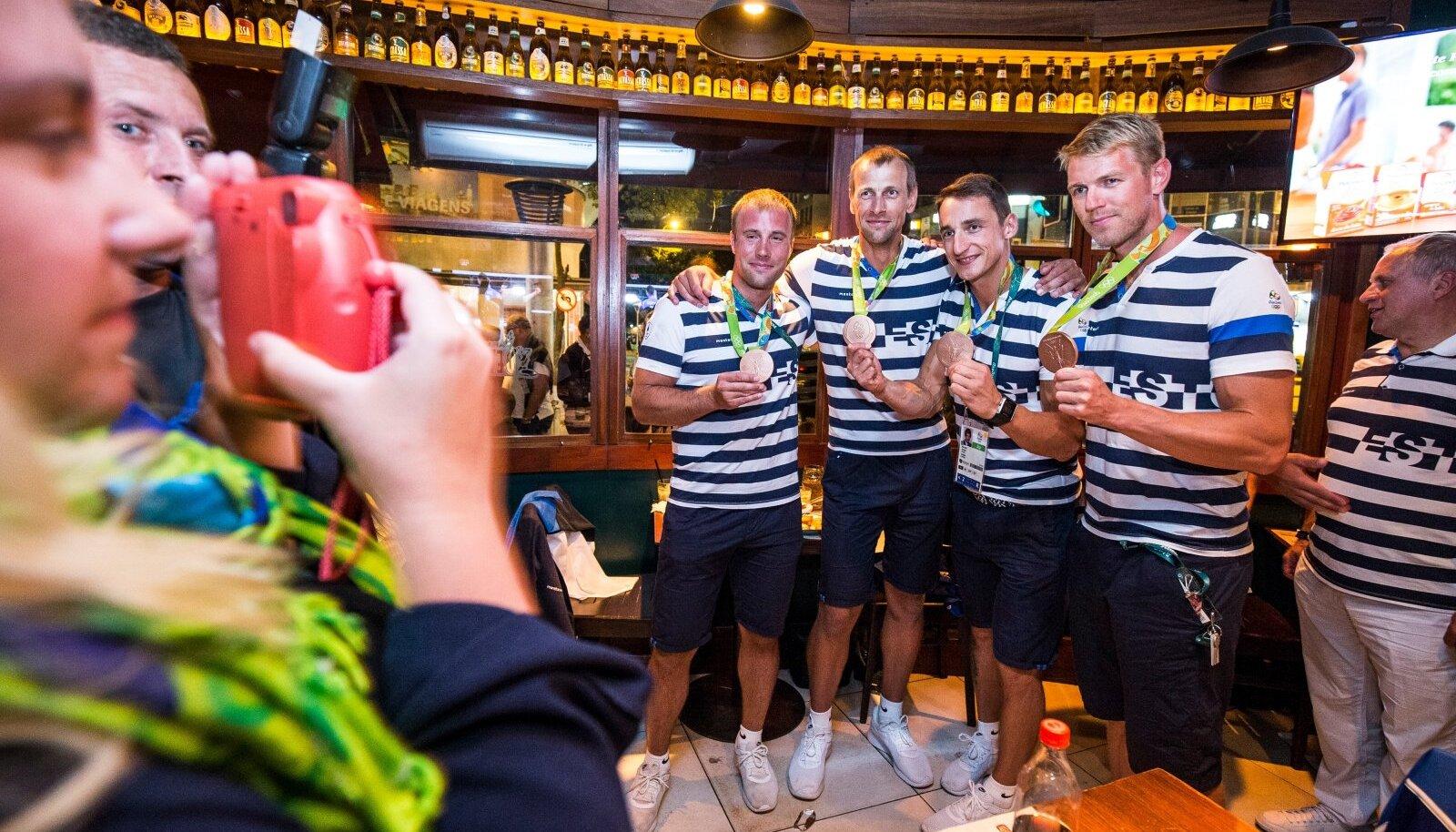 Viimase olümpiamedali võitis Eestile viis aastat tagasi Rios meie neljapaat.