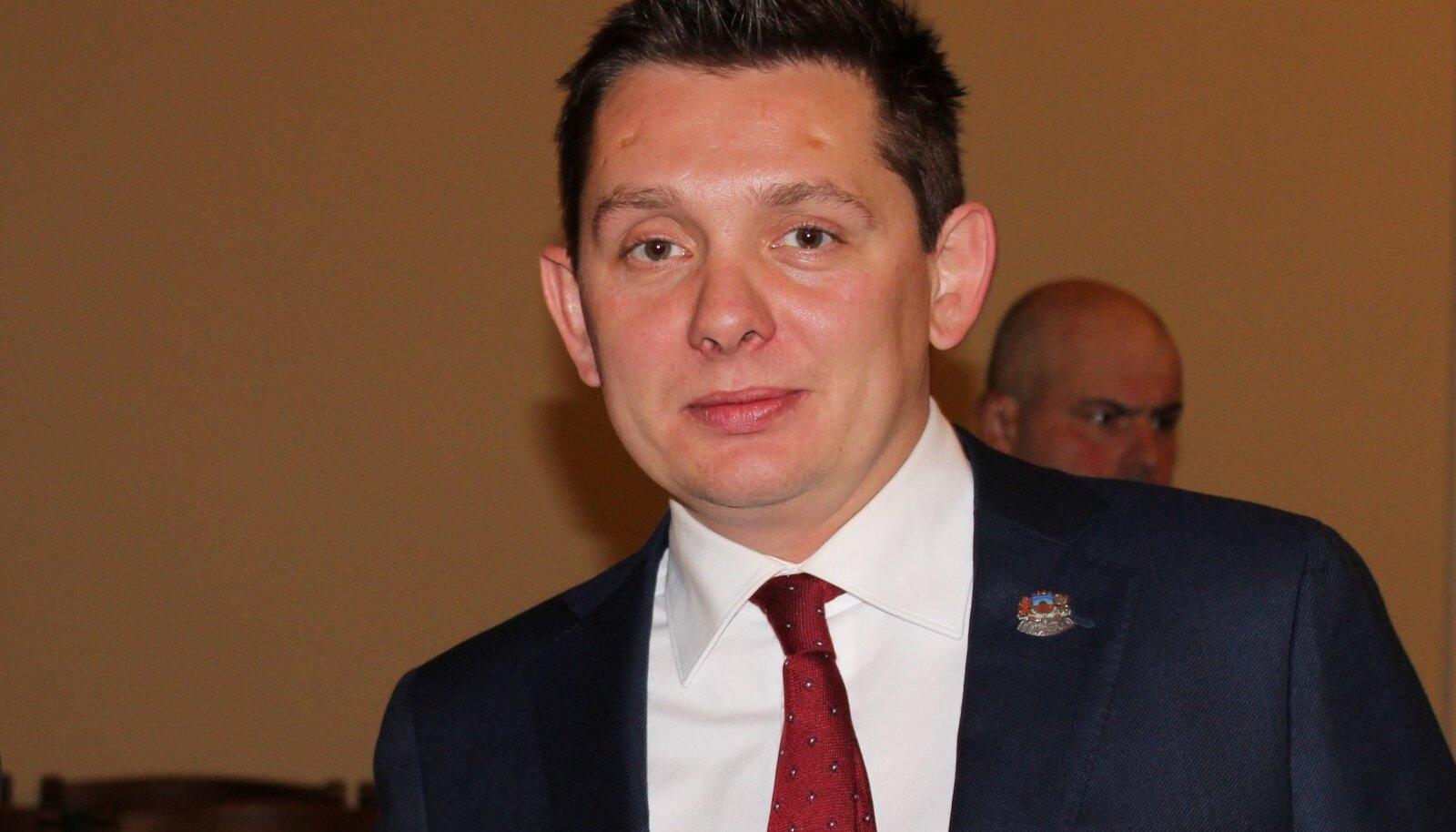 Läti seimi inimõiguste ja ühiskonna asjade komisjoni esimees Artuss Kaiminš