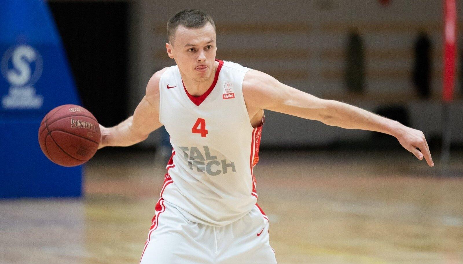Korvpalli Eesti meistriliiga esimene poolfinaalseeria, kus Tallinna Kalev/TLÜ alistas põneva lahingu järel võõrsil TalTechi 78:75