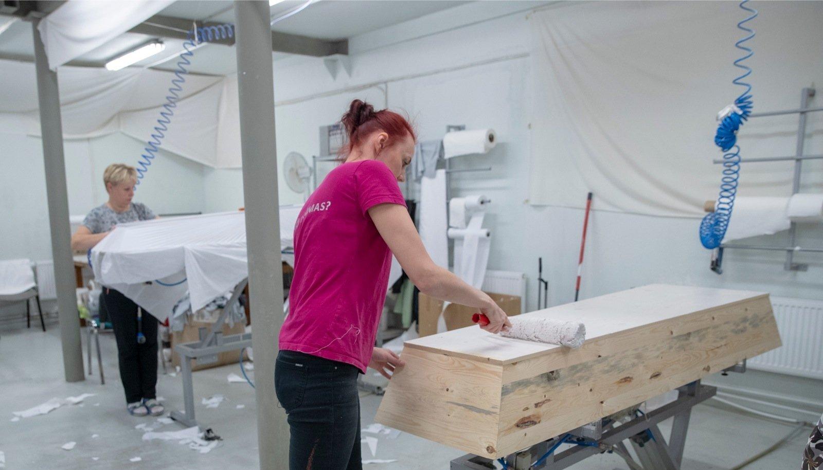 Baremi kirstud on Soomes kõrges hinnas.