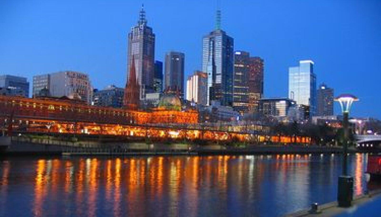 Melbourne'i city vaade