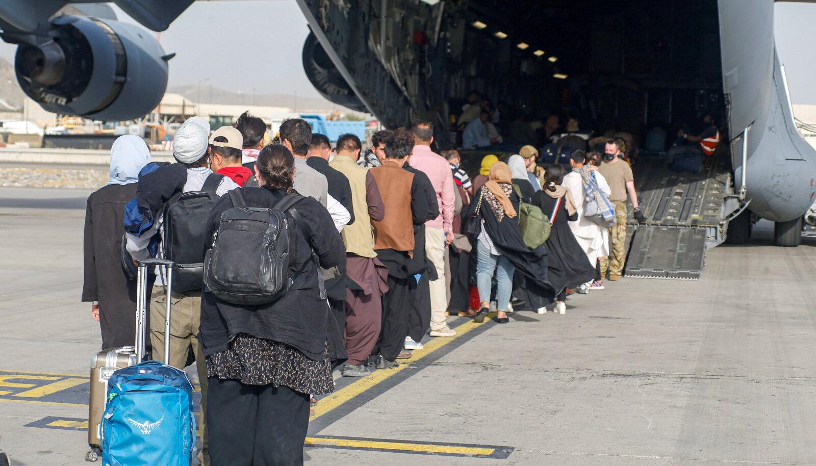 Evakueerimine Kabulis