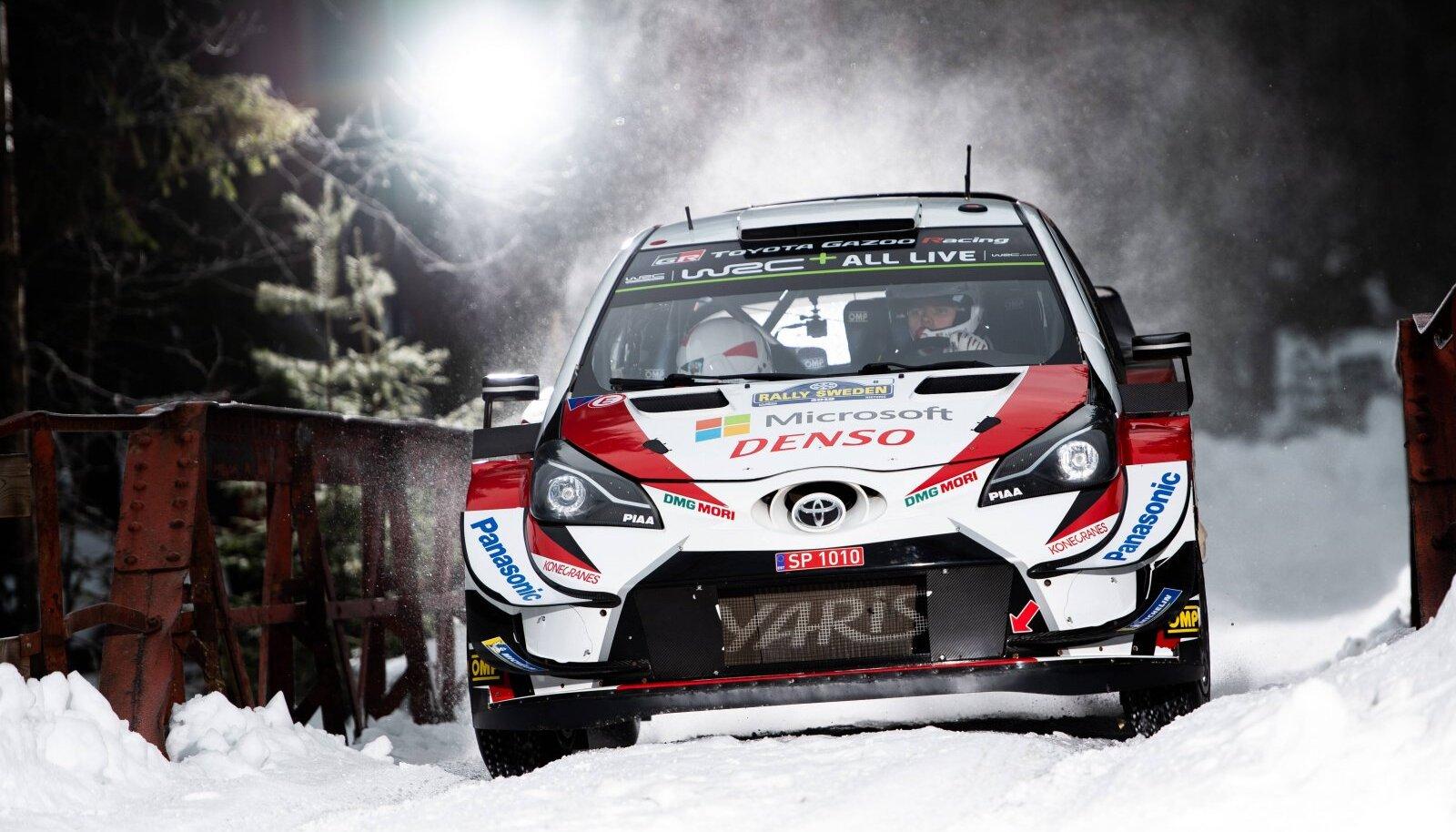 Tavaliselt on lumel sõidetud Rootsis, tänavu tehakse seda aga Soomes.