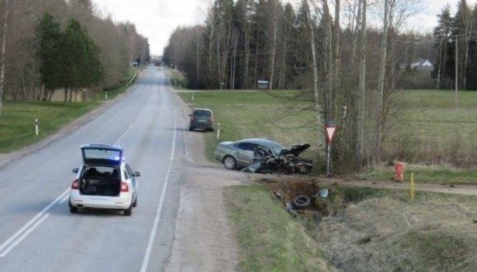 Põlva avarii