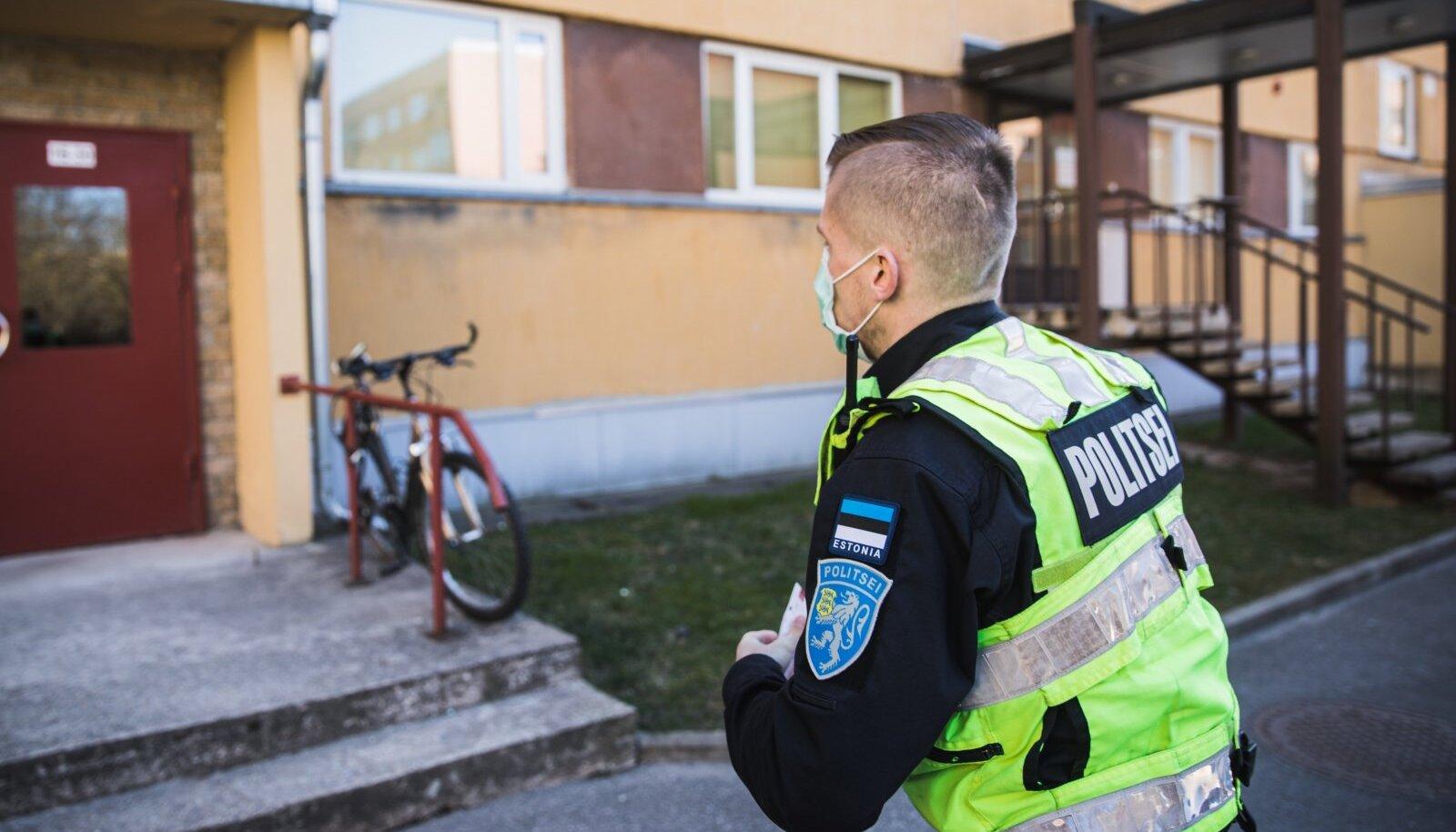 Kriisiaja politseipatrull Tartus