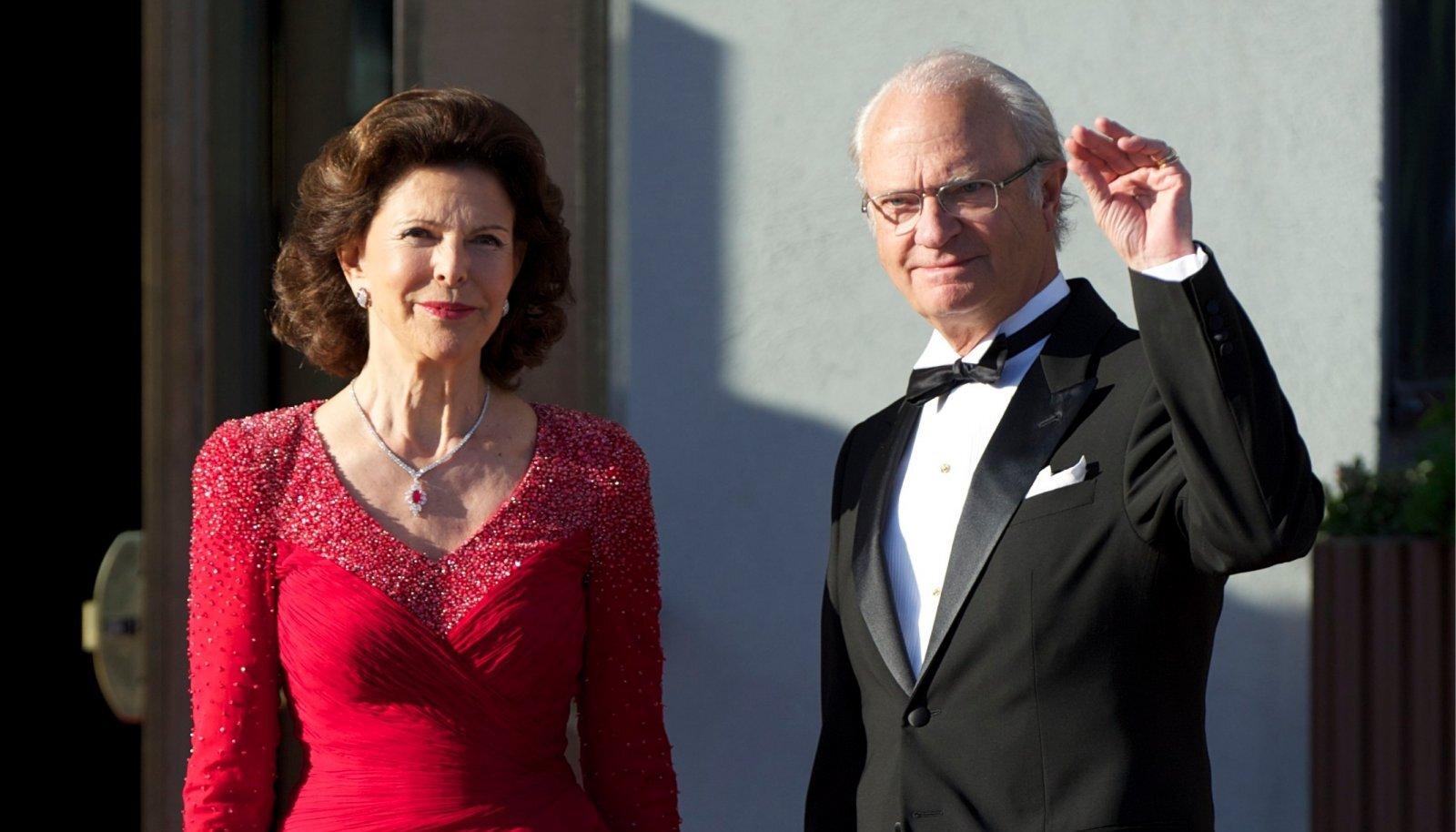 ROOTSI KUNINGANNA Silvia ja kuningas Carl XVI Gustaf.