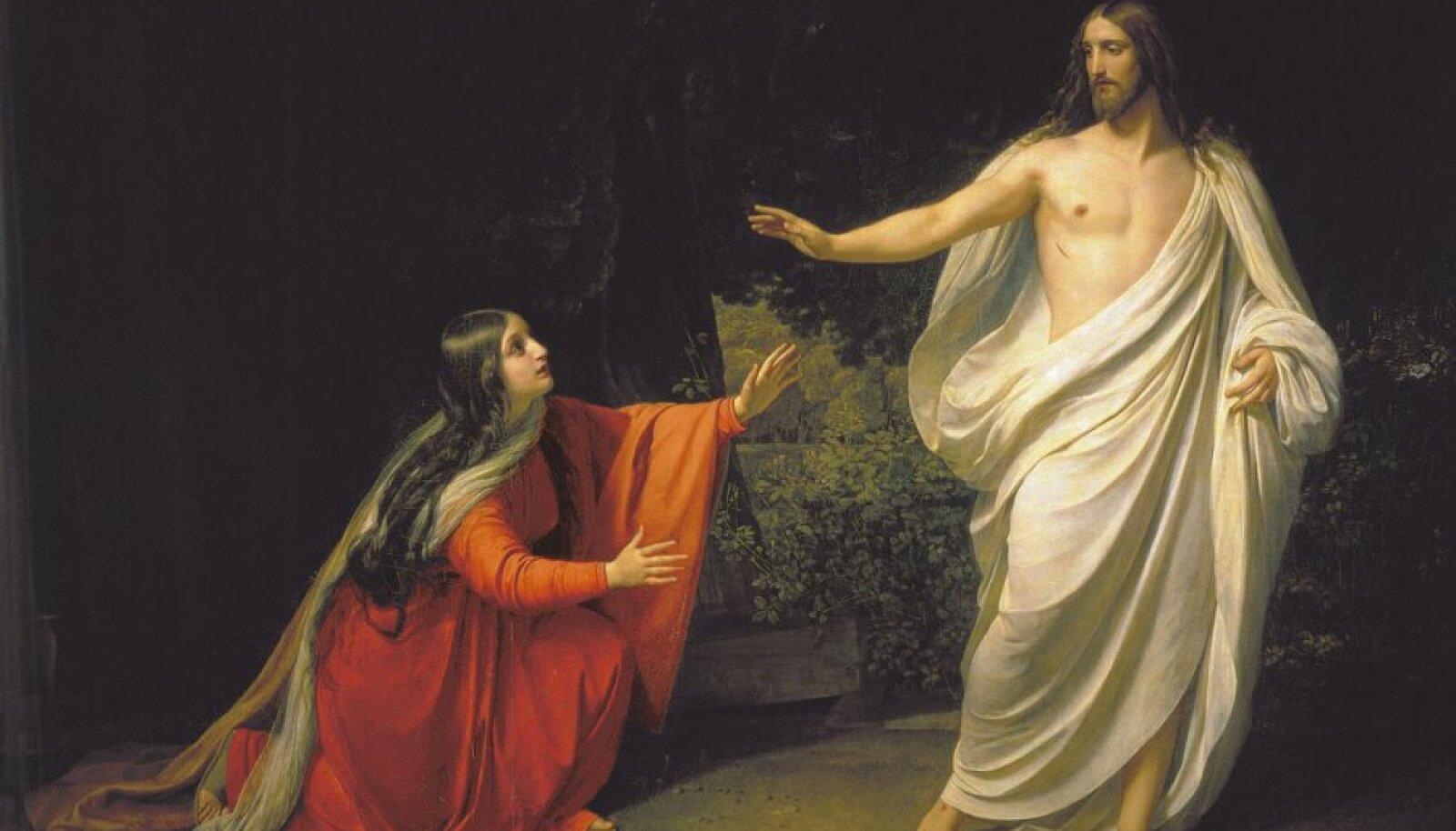 "Aleksandr Ivanov ""Jeesus ilmutab end Maarja Magdaleenale"""