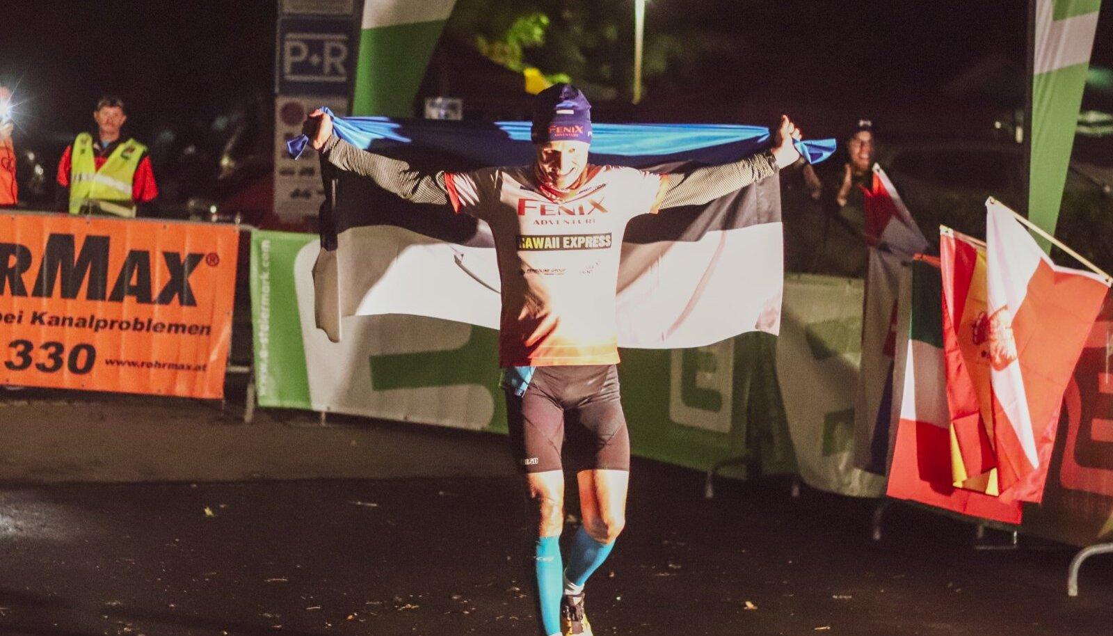 Rait Ratasepp võidukalt Austria jõuproovi finišis.