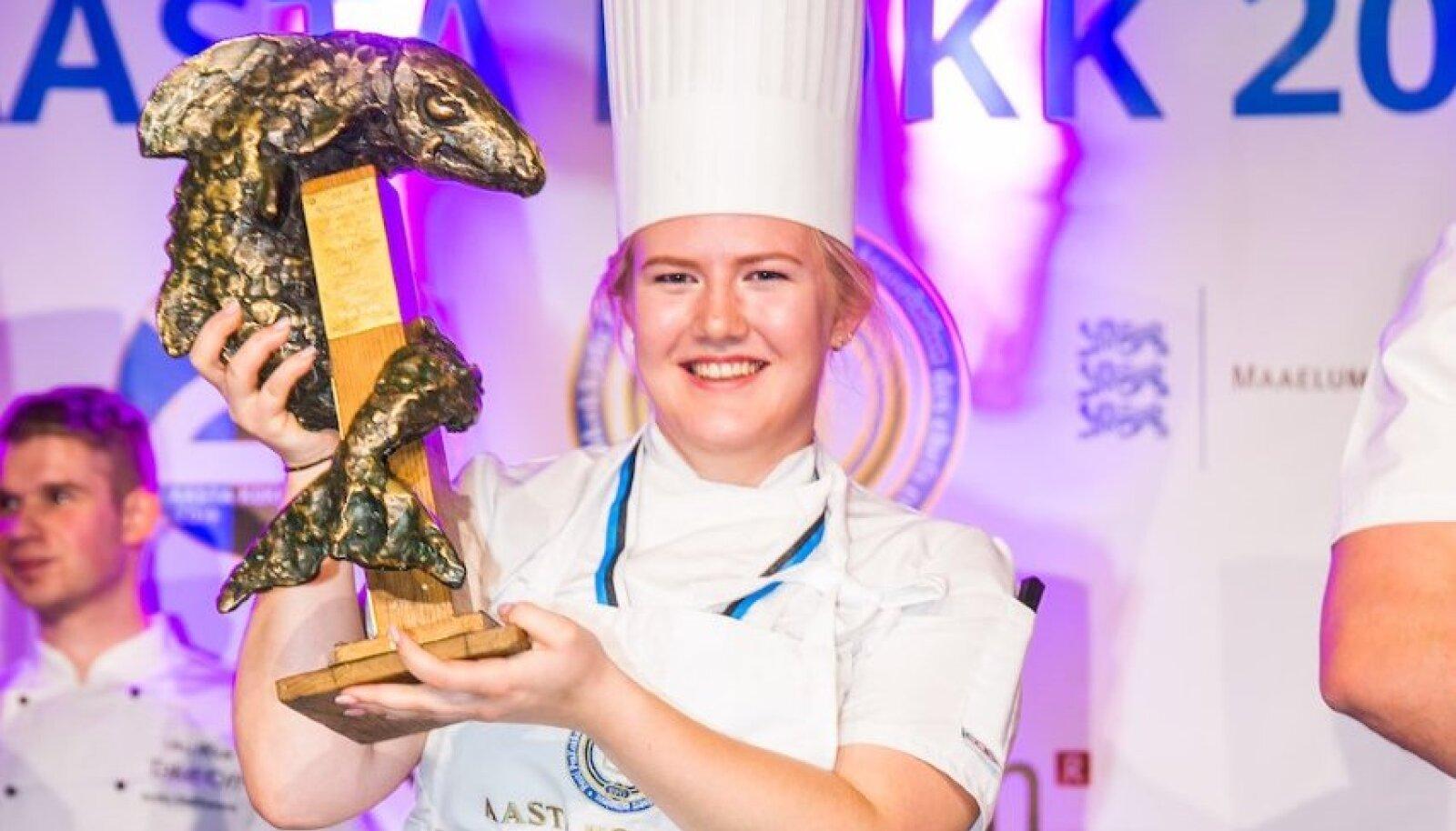 Aasta kokk 2019 Cätlyn Priks.