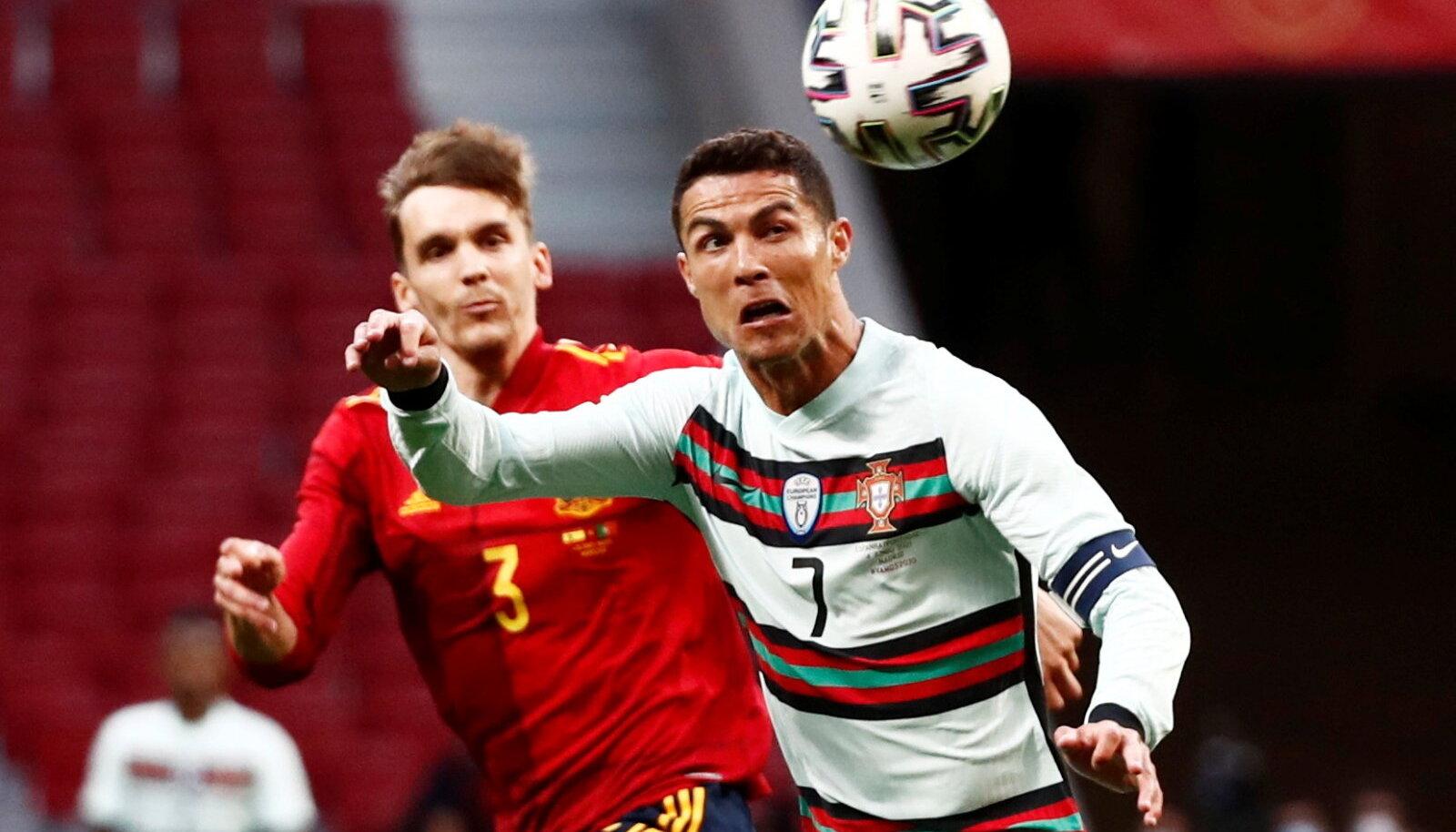 Diego Llorente ja Ronaldo