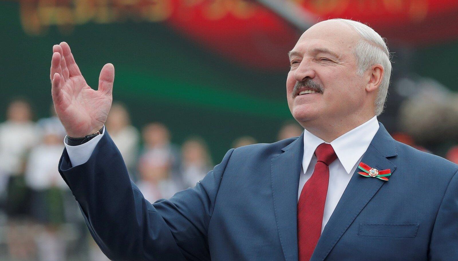TEMA ISE: Batka Aleksandr Lukašenka juuli alguses toimunud iseseisvuspäeva pidustustel.
