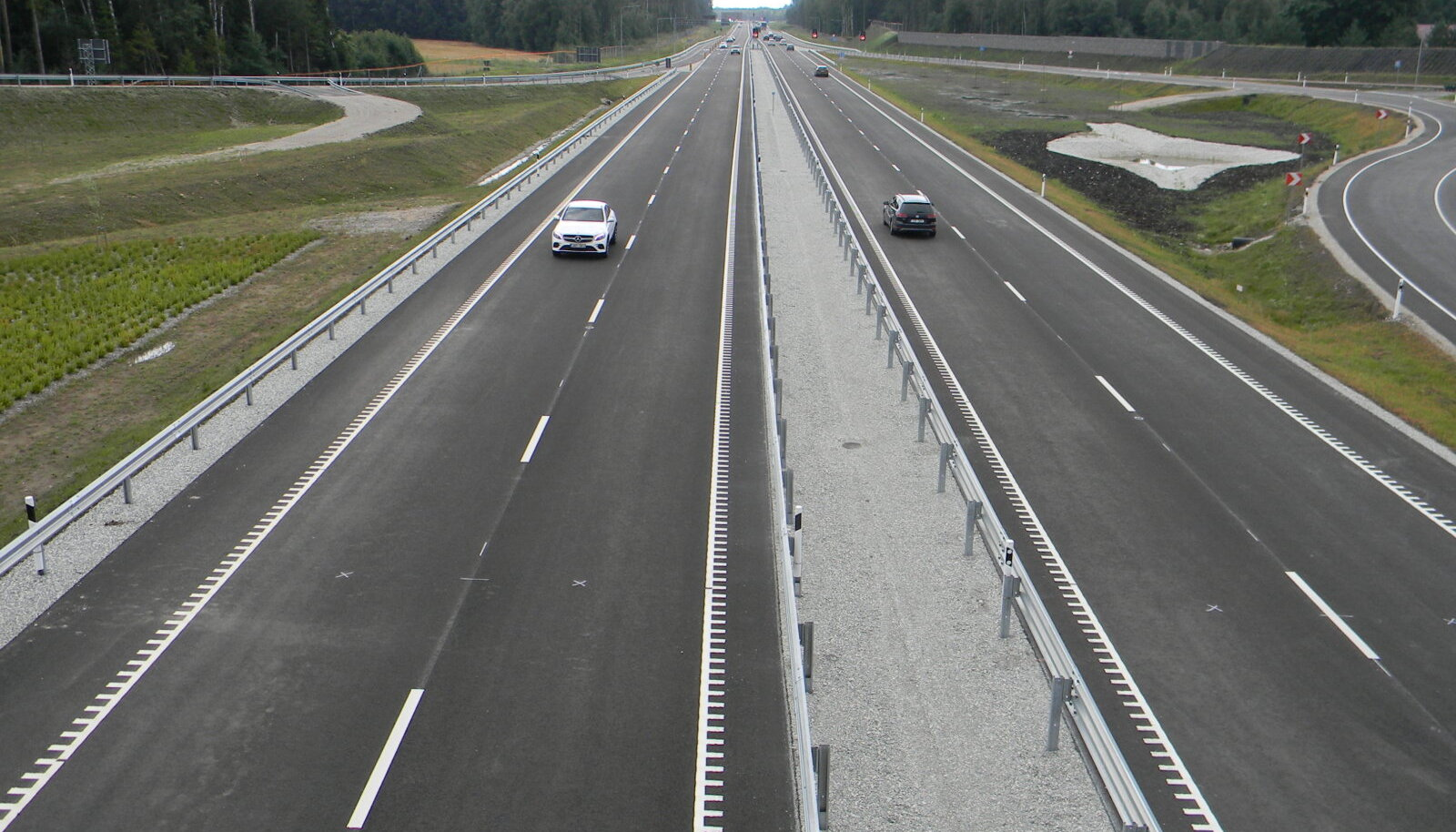 Tallinn-Tartu maantee uus teelõik Koselt Võõbuni.
