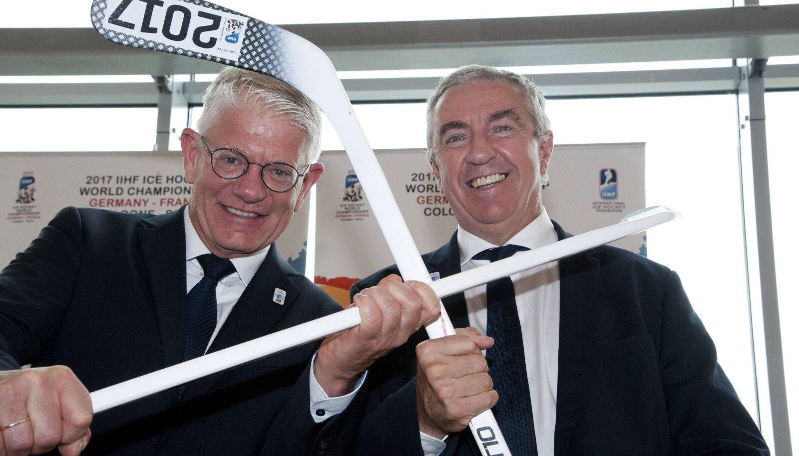 Franz Reindl ja Luc Tardif (paremal)