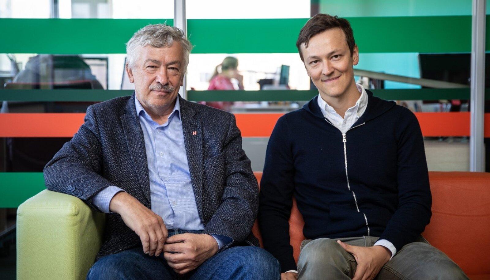 Perepanga tegijad Arne ja Kaido Veske
