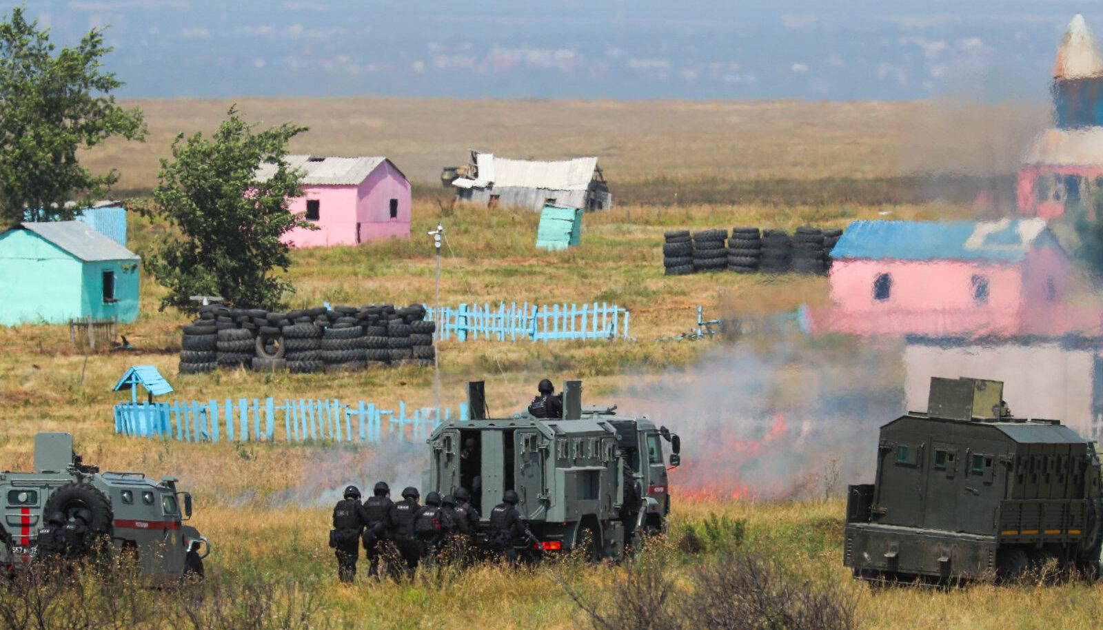 Vene strateegilised õppused Zaslon-2021 selle aasta juulis.