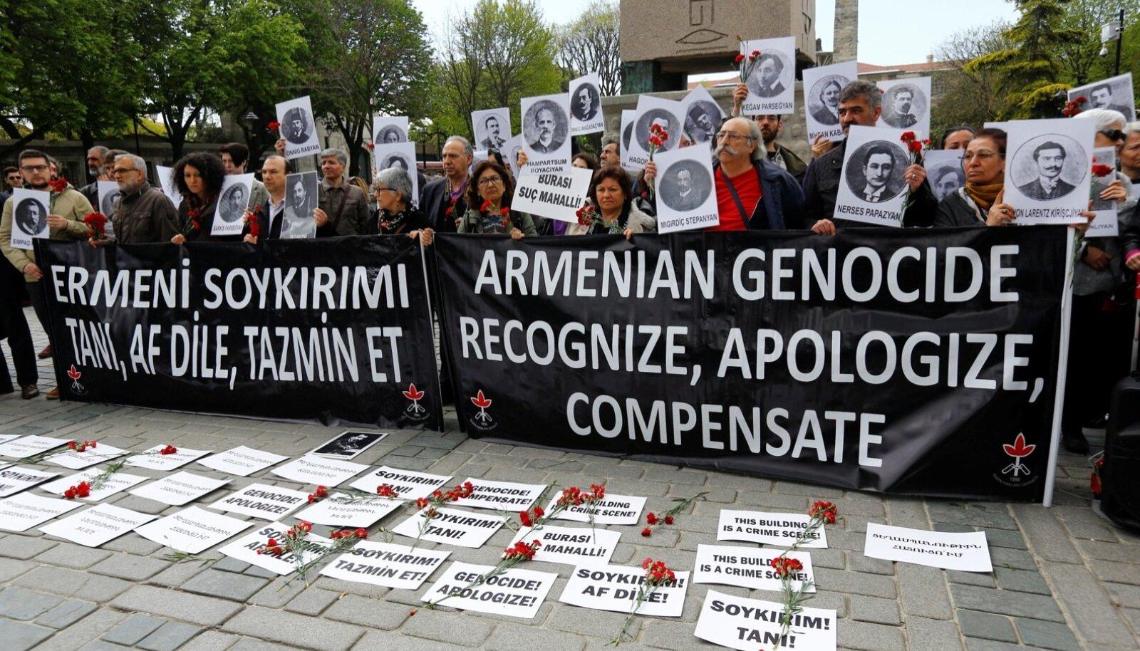 Brigitta Davidjants nendib raamatus, et Armeenia puhul läheb varem või hiljem jutt ikkagi genotsiidile.