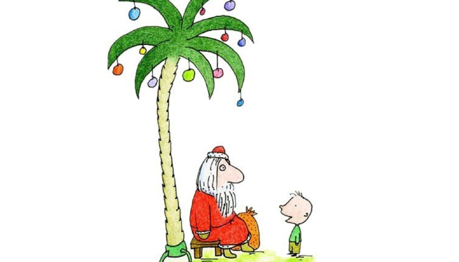 ET EI JÄÄKS PUU ALL HÄBISSE: Paneme kokku valiku ajakohastatud jõululuulet. Ütle sõna sekka!