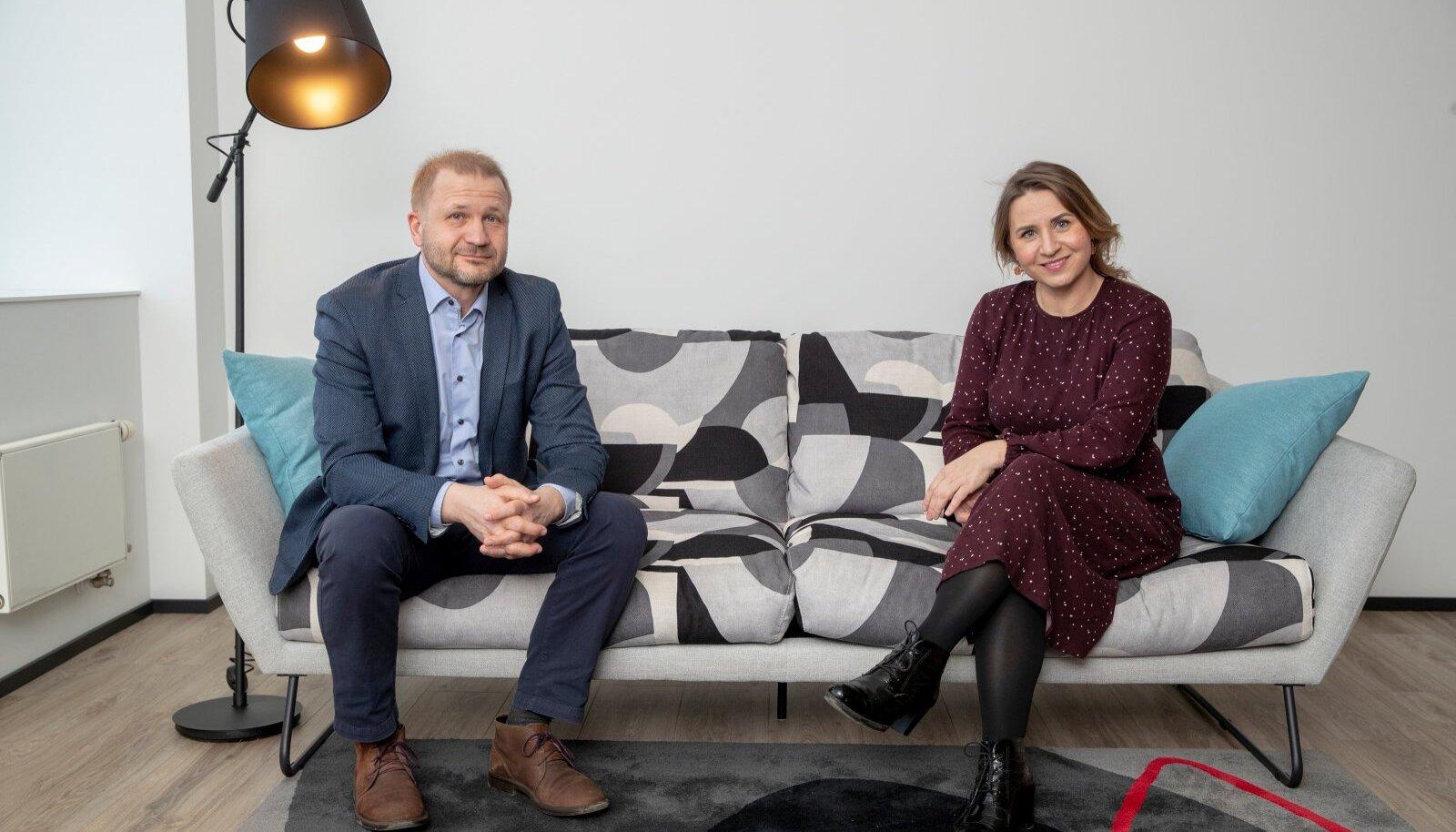EESTKÕNELEJAD: Energiaühistu tegevjuht Märt Helmja ja asutajaliige Annika Uudelepp.
