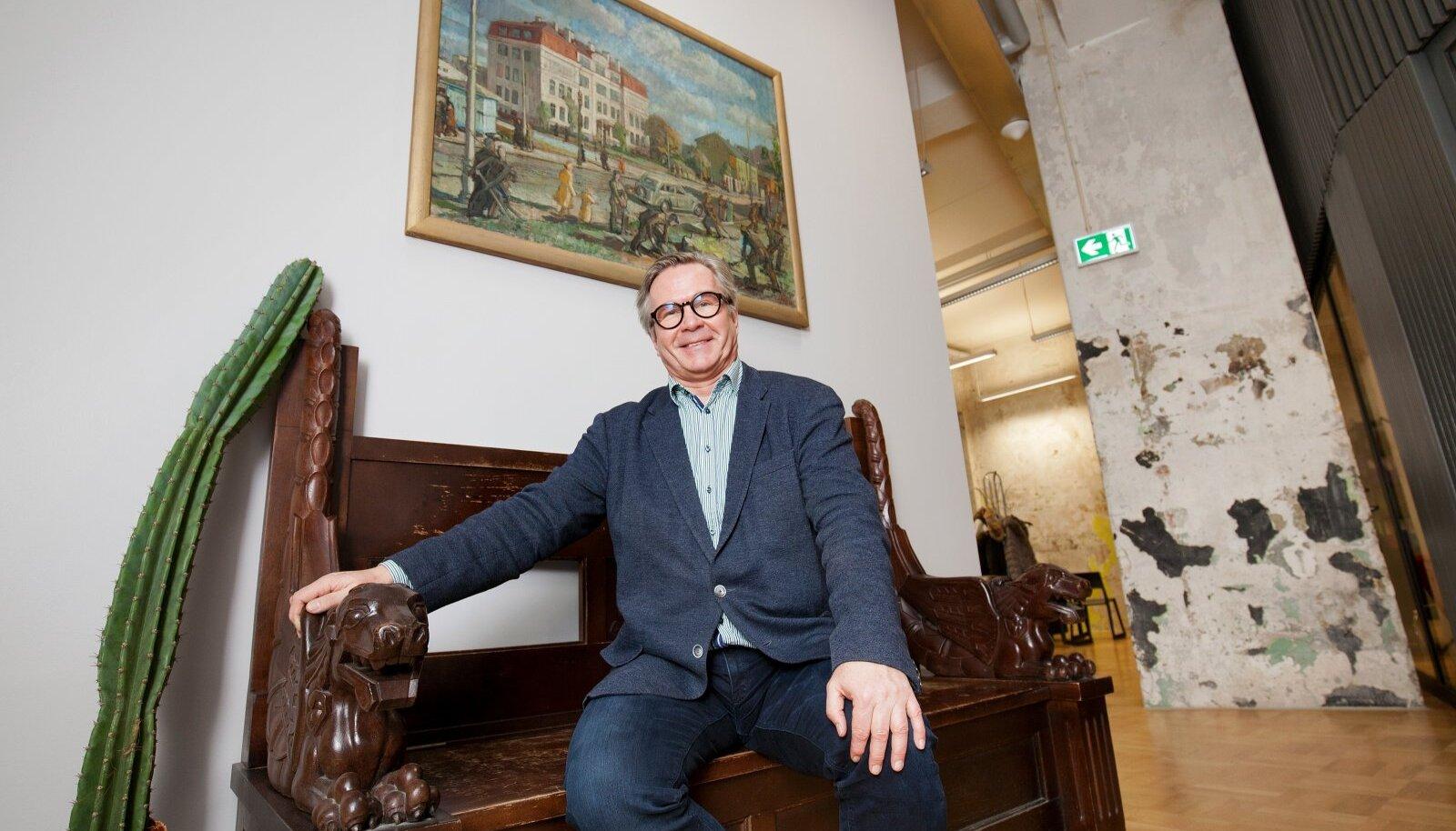 Mart Kalm - EKA rektor