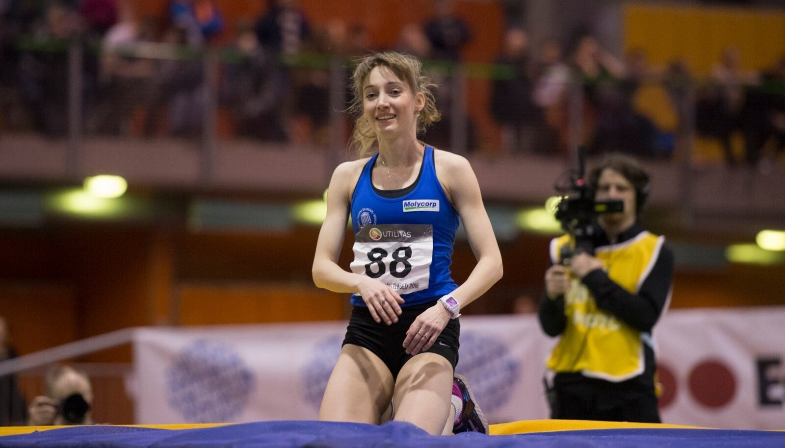 Anna Iljuštšenko sihib Rio de Janeiro olümpiat.