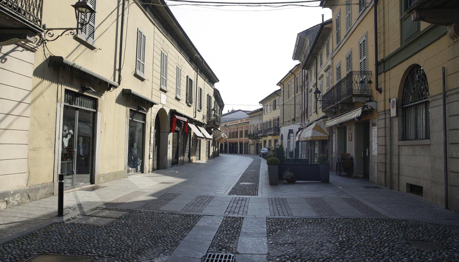 Codogno linnake Lodi lähistel.