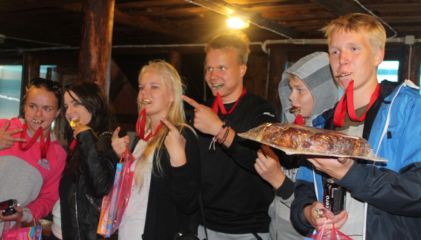 Jõgevamaa Gümnaasiumi projekt Ettevõtlik noor = noor ettevõtja?