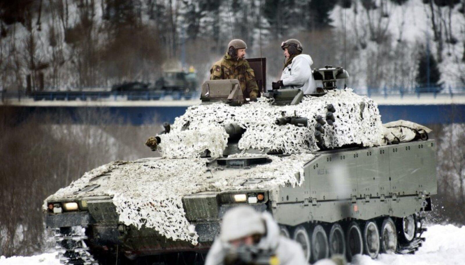 БМП семейства Strf 90 на вооружении Норвегии