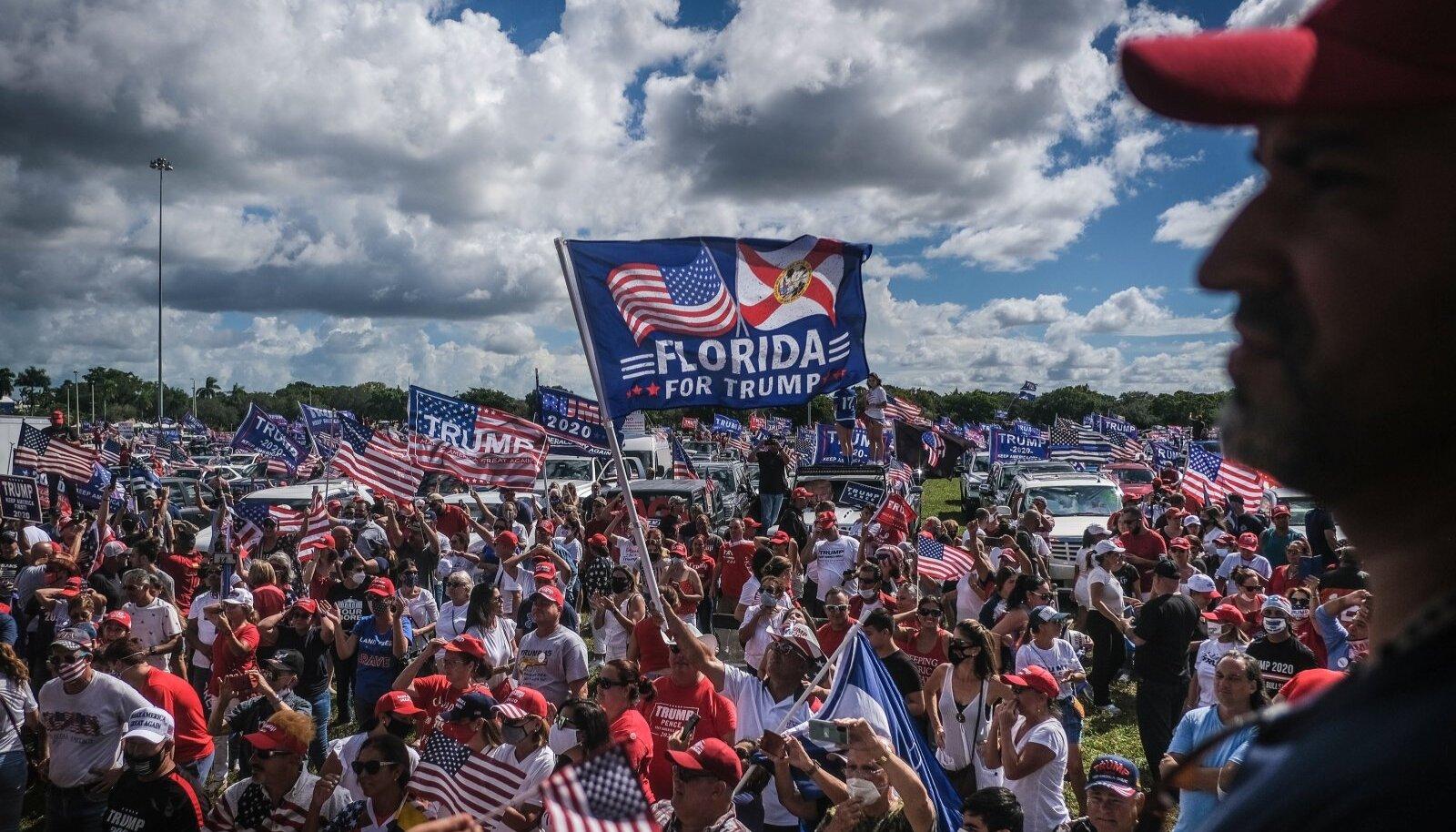 Floridas aitas Trumpi võidule kaasa Miami-Dade´i maakond, kus elab suur osa Kuuba taustaga floridalasi.