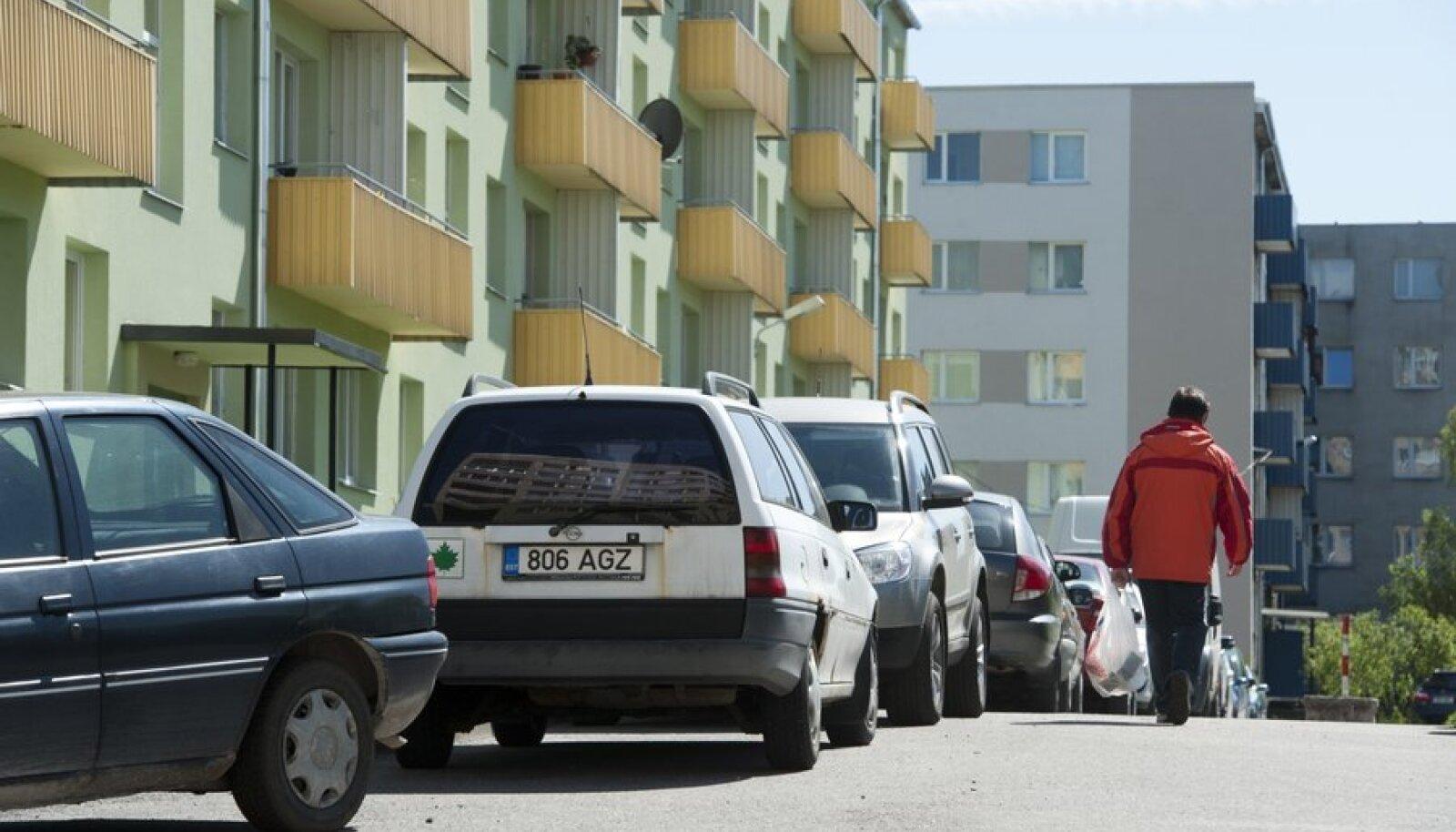 Parkimisprobleemid Mustamäel
