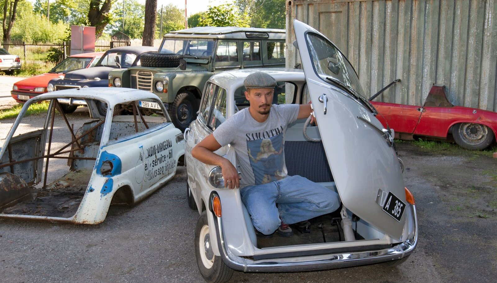 Seda BMW 600 (1959) restaureeris Autoklassik kaks aastat. Nüüd ütleb Harri Tiidus autole hüvasti ja see jääb ootama ostjat.
