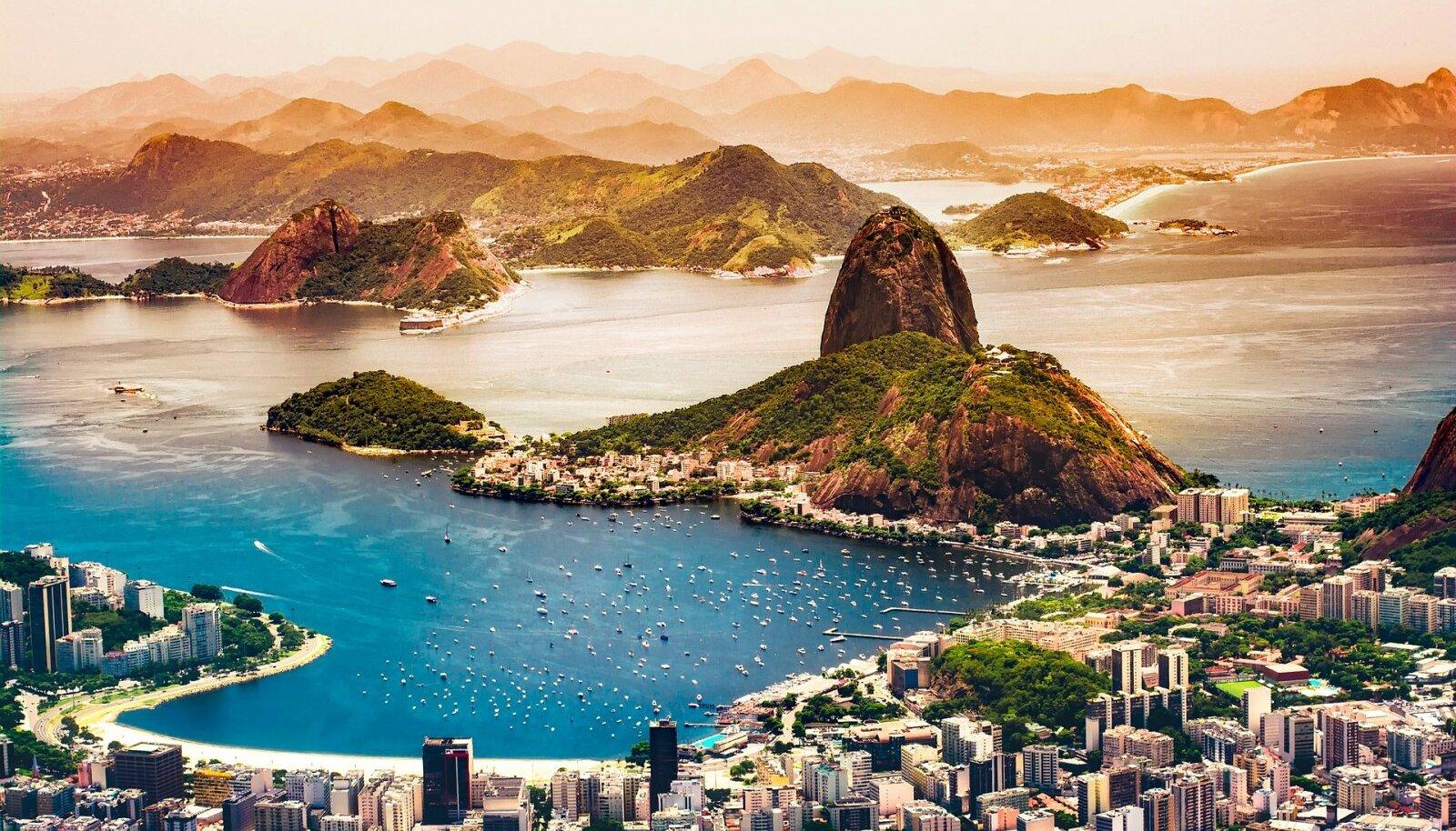 Rio de Janeiro. Brasiiliasse saab praegu reisida ilma igasuguste piiranguteta.