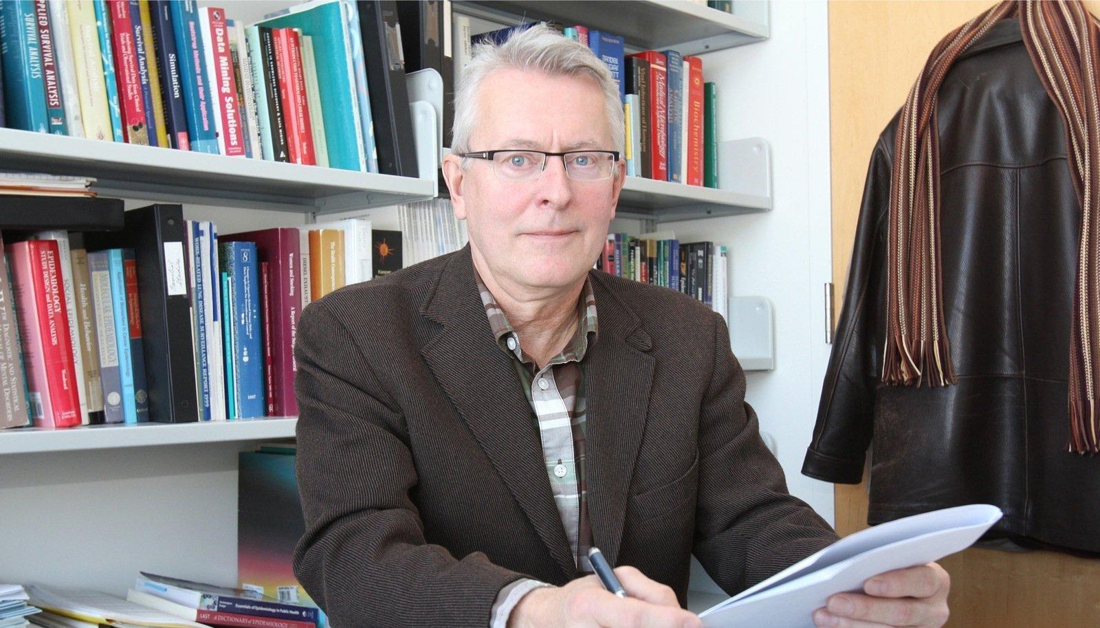 Kogu elu teisel pool Atlandi ookeani elanud professor Martin Tammemägi ütleb, et tunneb Eestiga tugevat sidet.