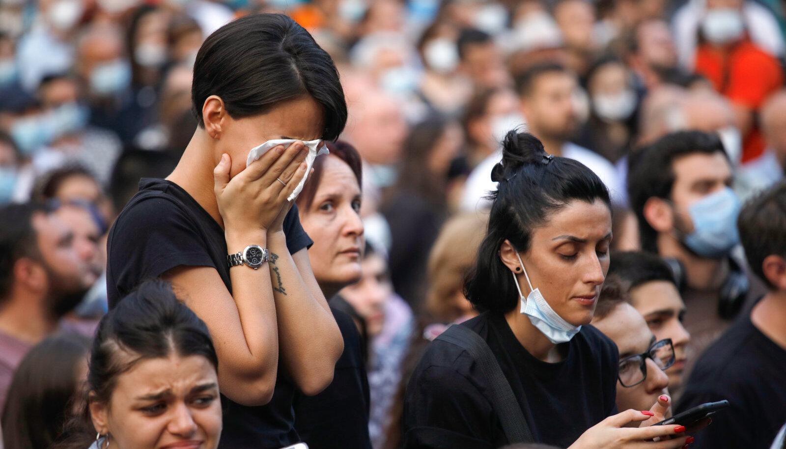 Pühapäevane meeleavaldus Thbilisis