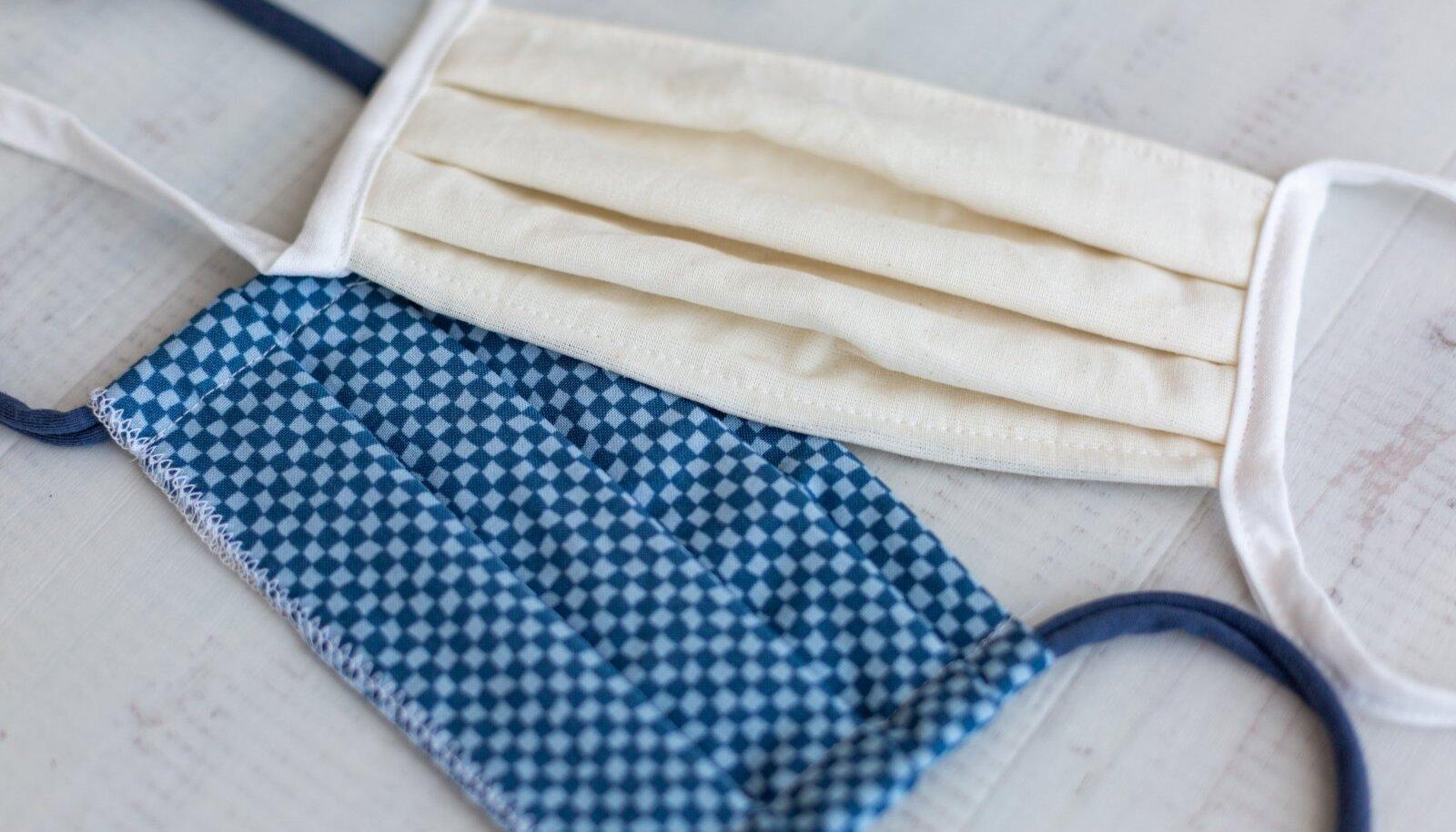 Kõige parem materjal isetehtud maski valmistamiseks on mikrokiududest tolmulapp