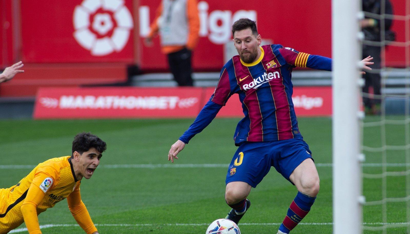 Soccer: LaLiga  - Sevilla v FC Barcelona