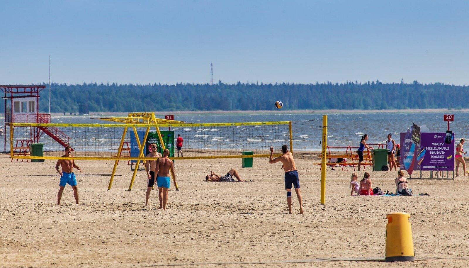 Eestis ei saa juuni alguses veel mõnusat rannailma nautida.