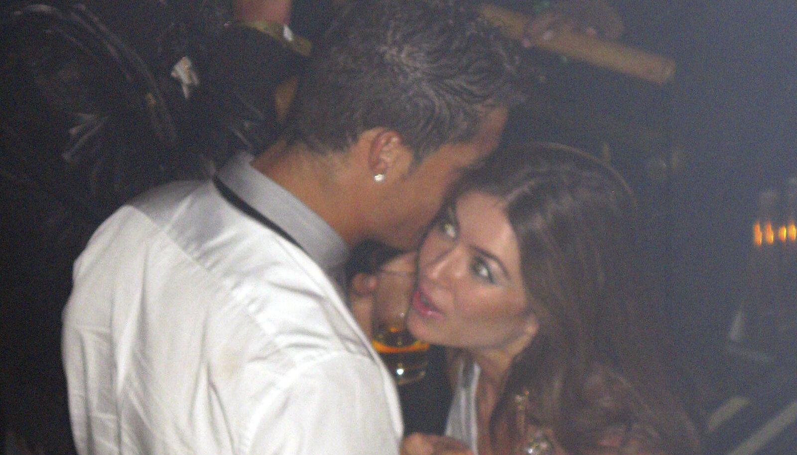 Cristiano Ronaldo ja Kathryn Mayorga 2009. aastal.
