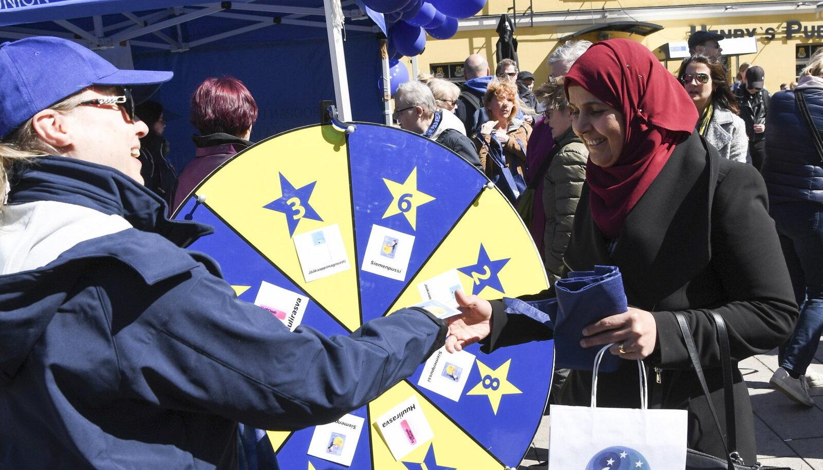 Euroopa päeva tähistamine Helsingis