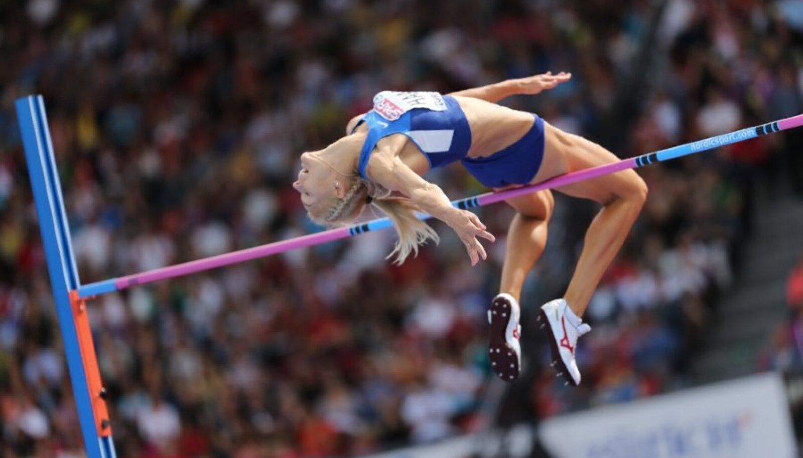Eleriin Haas ületas EM-il kõrgushüppes kõrguse 1.94, mis on U23 vanuseklassi Eesti rekord.