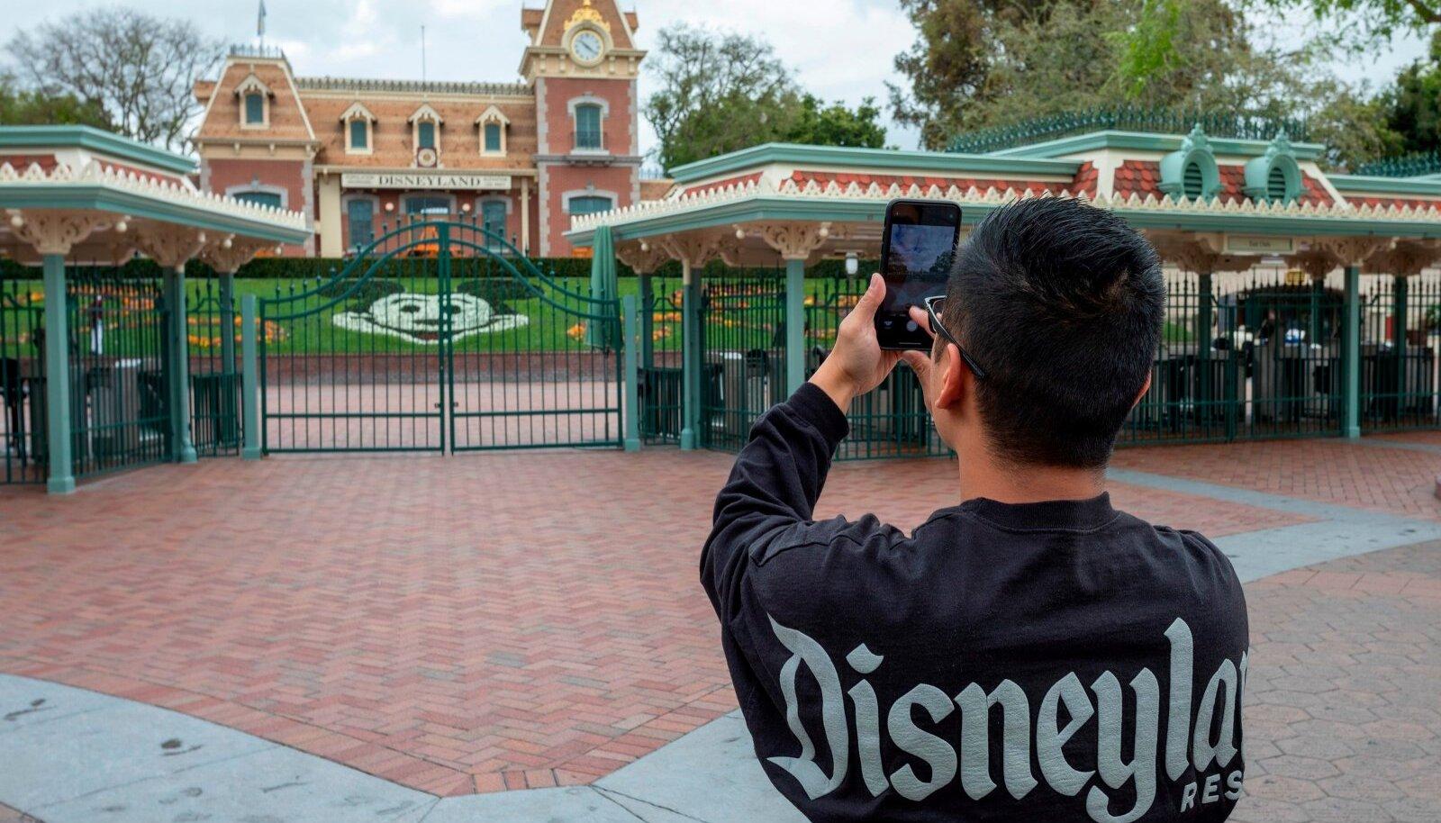 Disneyland ja Disney California Adventure seikluskeskus on olnud suletud alates 14. märtsist.