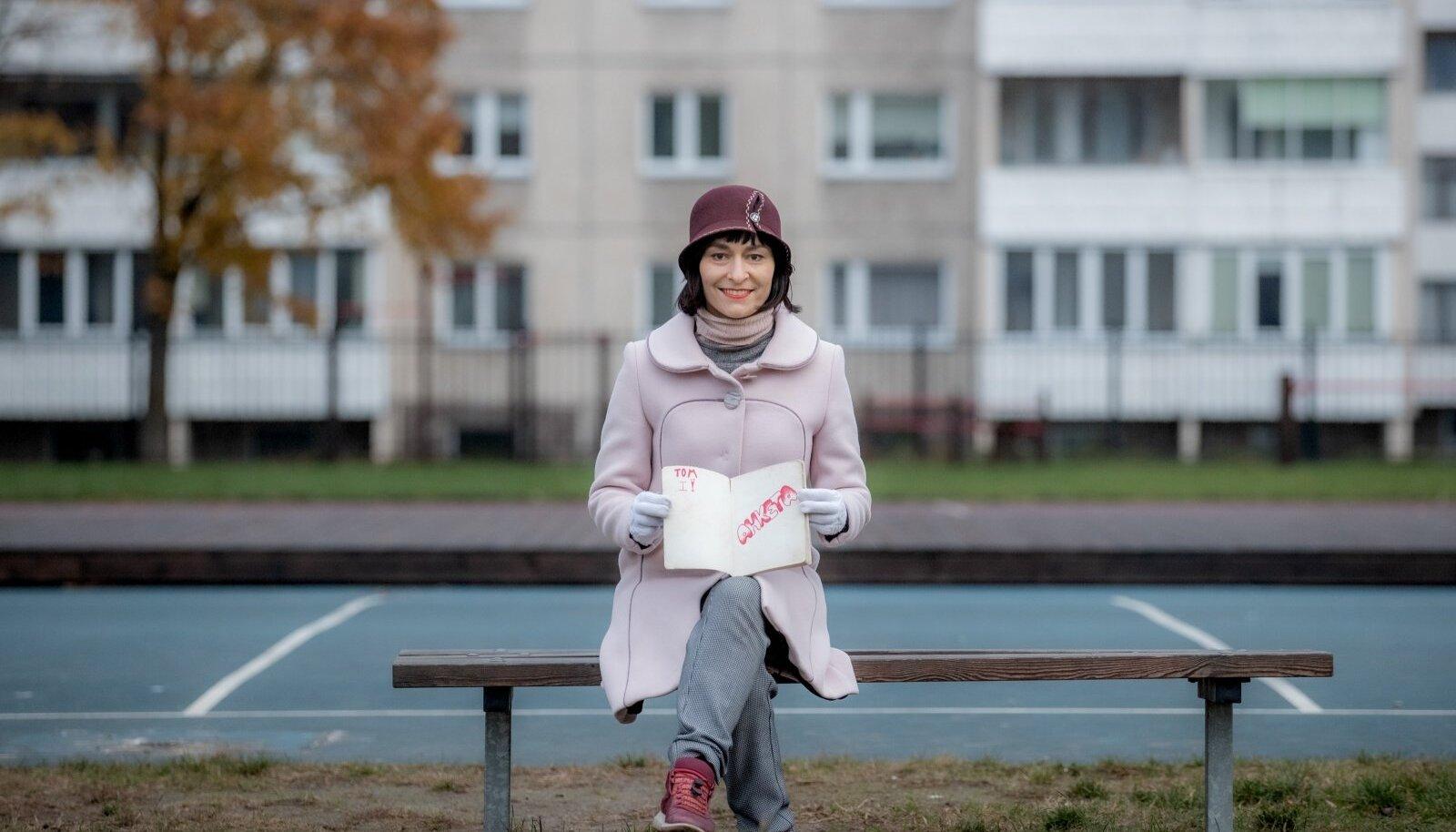 """""""Kooli ajal ei õppinud sugugi kõik klassikaaslased eesti keelt ära. See sõltus suuresti motivatsioonist. Mul oli alati suur uudishimu ümbritseva vastu ja minu Lasnamäe majas olid eestlased, kellega ma tahtsin suhelda,"""" meenutab Aljona Suržikova."""