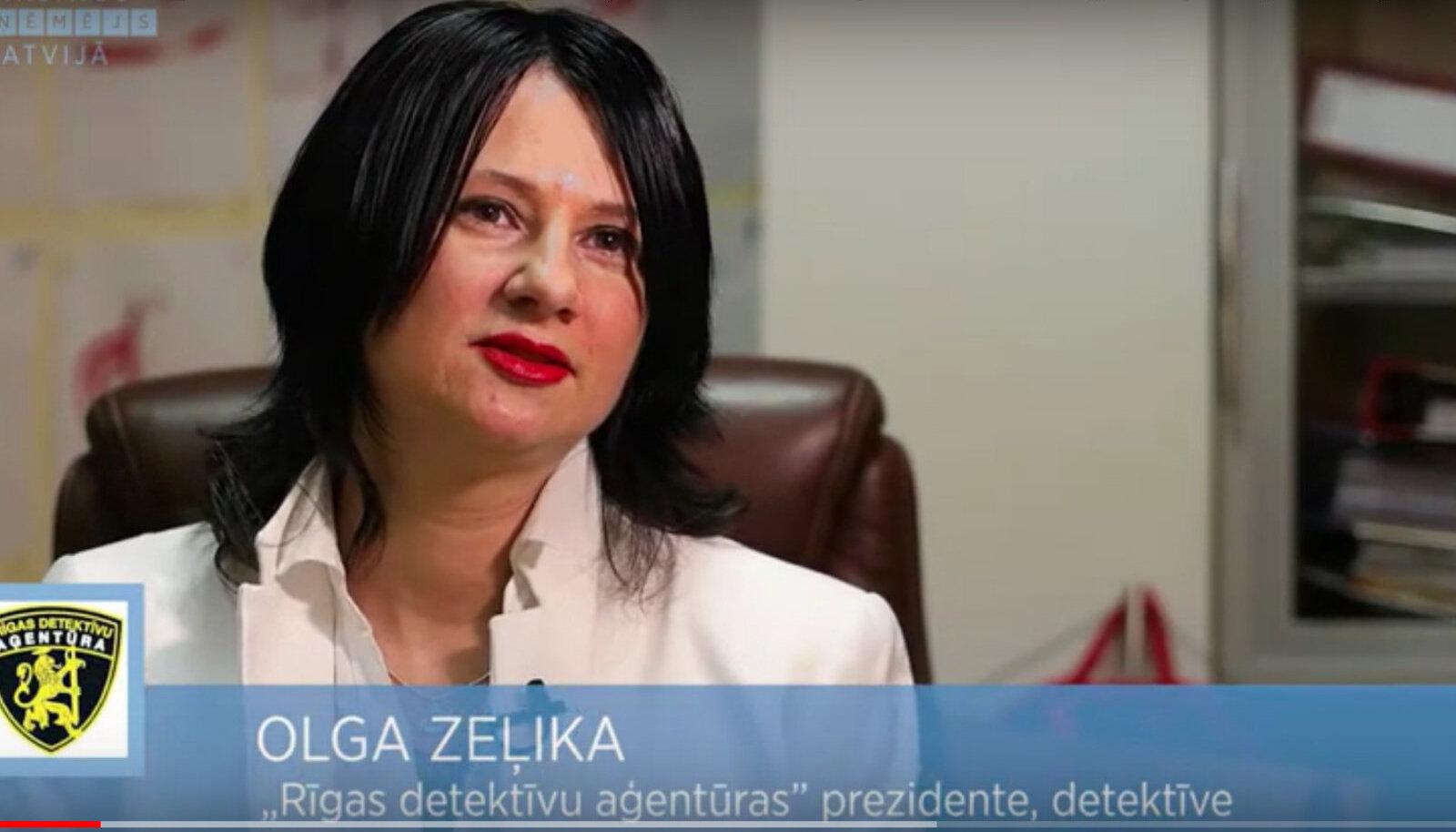 """Olga Zelika LTV7 2018. aasta saates """"Edukas läti ettevõtja""""."""""""