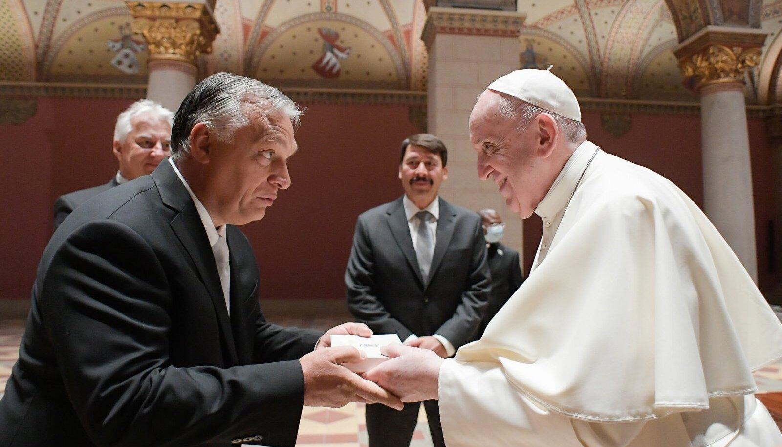 Viktor Orban ja paavst Franciscus