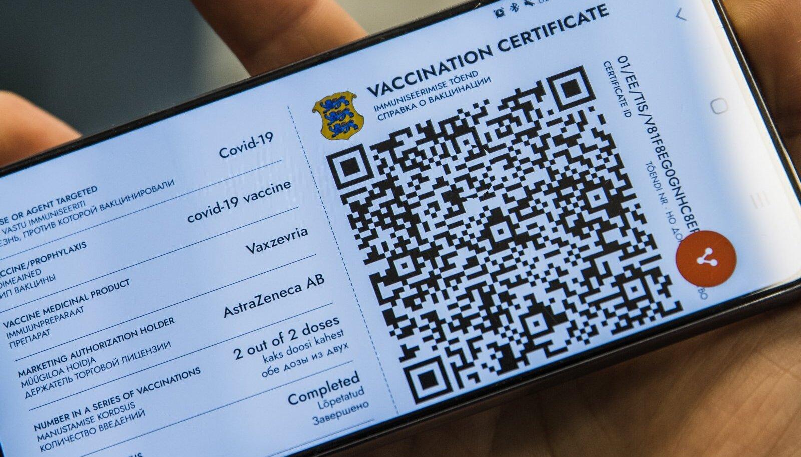 Digitaalne vaktsineerimispass ehk vaktsineerimistõend mobiiltelefonis. Aga mida teevad need, kelle pole ei internetti tõendi veebist väljaprintimiseks ega mitte ka mobiiltelefoni tõendi näitamiseks. Ministeerium alles otsib vastust.