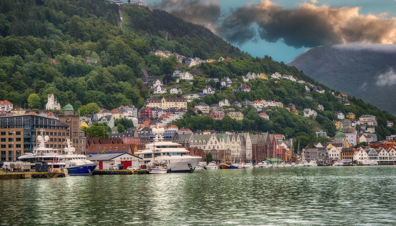 Bergen, Norra